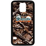 Caitin Miami?Dolphins Confederal Camo Cases Cover Protection Hard Shell for Samsung Galaxy S5
