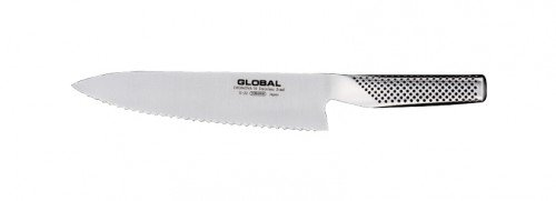 Global G-22 Serrated-Knives, Stainless Steel