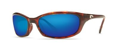 Costa Del Mar Harpoon Sunglasses, Tortoise, Blue Mirror 580G - Harpoon Costa 580g
