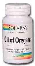 Solaray – Oil Of Oregano, 150 mg, 60 softgels For Sale