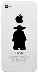 Star Wars Yoda Cell Phone Decal