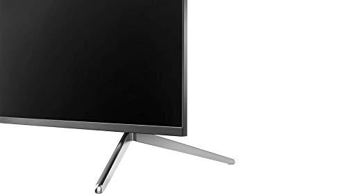 تلفزيون ذكي من تي سي ال 55 بوصة كيو ليد 4 كيه اتش دي ار بنسخة اندرويد مرخصة معدني بدون اطار وبدون ازرار - 55C715