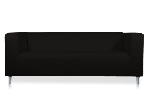Pimp tuo divano in ecopelle nero per ikea klippan 2 posti divano shop online divani - Divano ikea klippan ...
