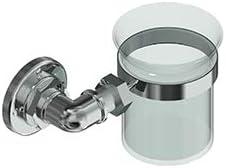 Industrial Polished Nickel Tumbler Holder