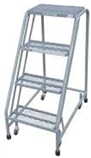 product image for Cotterman 1004N1820A6E10B3C1P6 - Rolling Ladder 30 in.H x 20 in.W 4 Steps