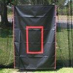 Batting Cage Canvas Backdrop -