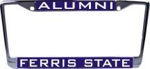 WinCraft Ferris State University L366822 Inlaid Metal LIC Plate Frame