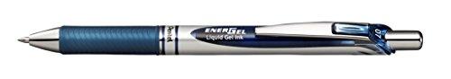 Pentel EnerGel RTX Retractable Liquid Gel Pen, (0.7mm) Metal Tip, Medium Line, Navy Blue Ink, 12 pack (BL77-CA) Photo #2