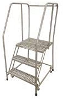 product image for Cotterman 1003R2630A3E30B3C1P6 - Rolling Ladder Steel 60In. H. Gray