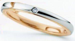 NINA RICCI ニナリッチ 16-6R1F02<br>マリッジリング結婚指輪ペアリング用(1本) (16) B01FO7FLKM 16
