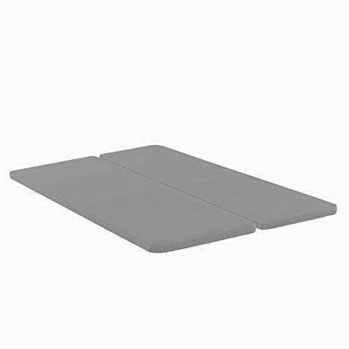 (Greaton, 1.5-Inch Wood Bunkie Board Mattress/Bed Support, Fits Standard, King Size, Grey)