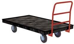 Rubbermaid Platform Trucks (Rubbermaid Commercial Heavy-Duty Platform Truck, 2,000-Pound Capacity, Black)