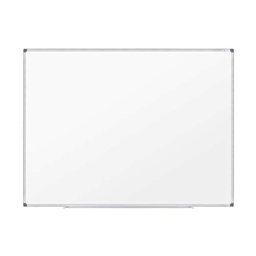 Magnetic Dry-Erase White Board 36''x48'' Porcelain Board with Pen Tray, Wall Mount Aluminium Frame W1273648E V VAB-PRO