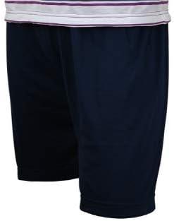 ropa de dormir a rayas de 100/% algod/ón M hasta 5XL Soltice Pijama corto de dos piezas para hombre en set
