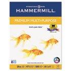 ''Premium Multipurpose Paper, 20-lb., 8-1/2 x 11, White, 5000/Carton''