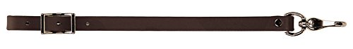 Strap Connector Cinch (Weaver Leather Synthetic Girth Connector, Brown)