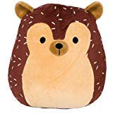 Kellytoy Squishmallow Hans The Hedgehog Super Soft Plush Toy Pillow Pet Pal Buddy (8 inches) (Kelly Brown Newborn)