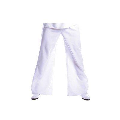 Bell Bottom Pant Costume in White