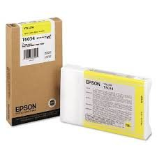 Epson T603400 Yellow UltraChrome K3 OEM Genuine Inkjet/Ink Cartridge