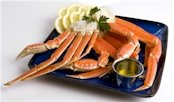 Charleston Seafood Frozen Snow Crab Clusters, 64-Ounce Box