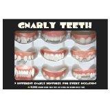 Gnarly Teeth 9 Piece Set by Toy Zany