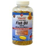 Member's Mark - Omega 3, Fish Oil 1400 mg (900 mg EPA/DHA), Enteric Coated, 150 Softgels (Sams Club Members)