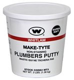 J.C. Whitlam Make-Tyte 5 lb. Stainless Steel Putty
