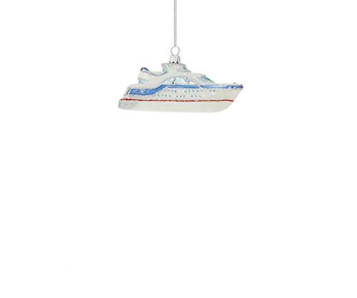 Price comparison product image Lord and Taylor Glitter Yacht Ornament