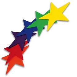 US Games Color My Class Stars Boundary Markers