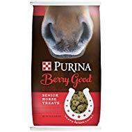 Purina Berry Good Senior Horse Treats, 15 lb Bag by Purina