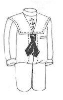 (1910 Boys' Sailor Suit Pattern)