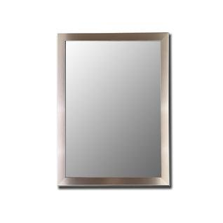 Nouveau Mirror in Stainless Size: 26