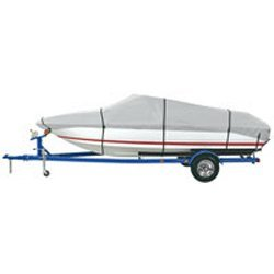 Dallas Manufacturing Co. Heavy Duty Polyester Boat Cover D 17'-19' V-H