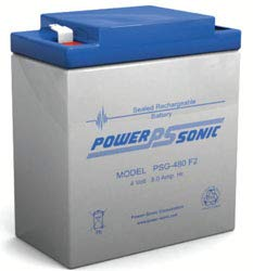 Replacement For PSG-480 PSG SERIES Battery