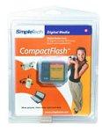 SimpleTech 128 MB CompactFlash Card (CIRCCF128)