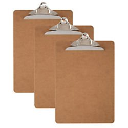 office-depot-wood-clipboards-letter-size-100-recycledpack-of-3-10040