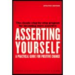 Asserting Yourself (REV 04) by Bower, Sharon Anthony - Bower, Gordon H [Paperback (2004)]