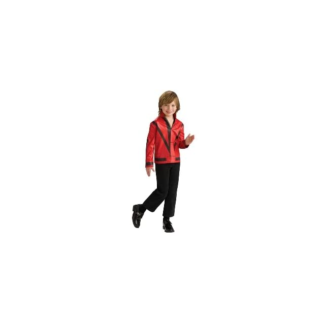 Thriller Red Jacket Costume   Small