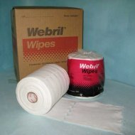 Webril Handi-pads 8x8 Bag (8 ROLL CASE) 100 Wipes / Roll by Webril