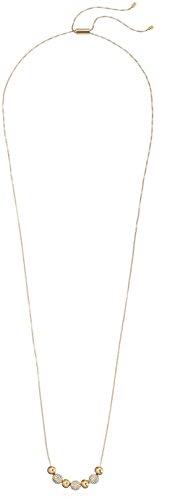 "Michael Kors Brilliance Gold Slider Pendant Necklace, 39"" from Michael Kors"