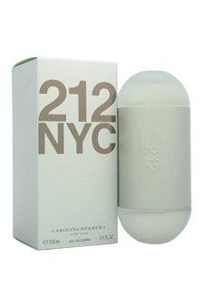 Carolina Herrera 212 Perfume for Women 3.4 oz Eau De Toilette Spray - Herrera 100 Ml Edt