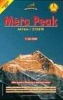 Mera Peak Climbing Map, Nepal (Himalaya Trekking Maps)