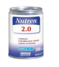 Nutren 2.0 Tube Feeding Formula 9871616230 Case of 24, Unflavored