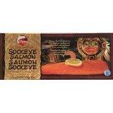 7 Seas Alder Smoked Sockeye Salmon, 16 Ounce Filet