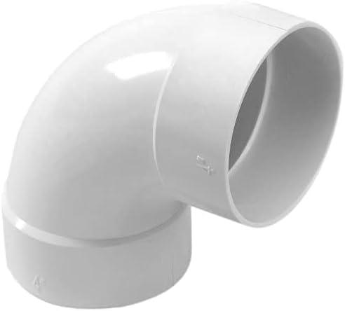 NDS X Hub PVC S&D 90° Elbow, 4
