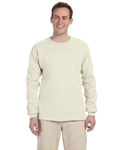 Gildan G240 Ultra Cotton® 6 oz. Long-Sleeve T-Shirt - NATURAL - XL