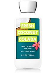 Bath and Body Works Fresh Coconut Colada Lotion 8 Ounce Summer 2018 Collection (Best Body Lotion For Summer)
