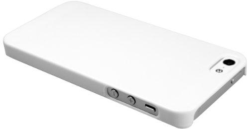 mumbi Schutzhülle iPhone 5 5S Hülle Hardcase (harte Rückseite) weiss