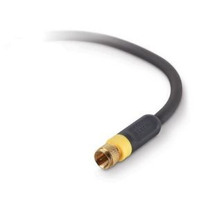 RF Coaxial Video Cable, F-Pin, 6 ft. - AV21300-06