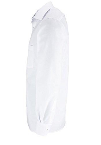 ETERNA Modern Fit Hemd super langer Arm weiß AL 72
